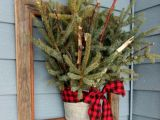 Christmas Decoration Ideas for Outside 40 Fy Rustic Outdoor Christmas Décor Ideas